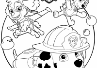 free printable paw patrol coloring pages free coloring pages