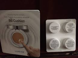 laneige bb cushion light medium laneige bb cushion sle light medium and dark unused and from