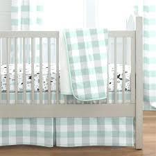 Plaid Crib Bedding Plaid Baby Bedding Nd Gry Bufflo Plaid Crib Set Hamze