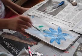 homeschool art project roman fresco paintings adorable chaos