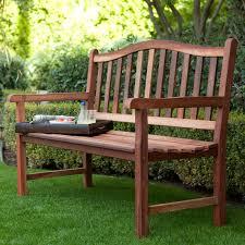 High Back Garden Bench Antique Varnished Teak Wood Bench With High Backrest Of