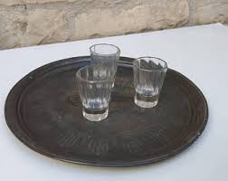 pewter serving platter pewter tray etsy