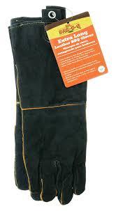amazon com mr bar b q 40113x leather barbecue gloves garden
