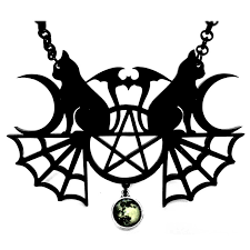 gothic moon necklace images Angel clothing gothic and steampunk clothing jpg