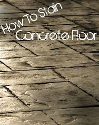 How To Stain Concrete Patio Yourself Best 25 How To Stain Concrete Ideas On Pinterest Stain Concrete