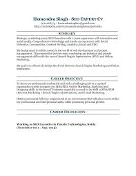 Expert Resume Resume Search Engine Wes Faires Search Engine Optimization Seo