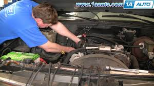 how to install replace spark plug wires chevy gmc vortec 5700