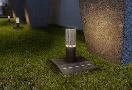 How To Set Up Landscape Lighting Solar Pop Up Lights Set Of 2 Sharper Image