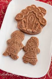 speculaas molded ginger cookies recipe