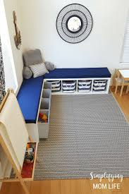 ikea kallax bench ikea kallax hack storage benches for a playroom simplifying mom