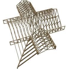 a frame roof design hybrid roof frame design trusses and sticks framing