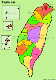 Map Of China And Taiwan by Taiwan Maps Maps Of Taiwan Republic Of China