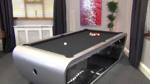 how big of a room for a pool table blacklight pool table youtube