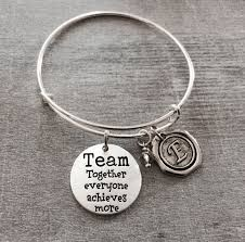 personalized silver gifts team together everyone achieves more teamwork coach gift sports