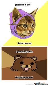 Hipster Kitty Meme - rmx hipster cat is old by blueman122 meme center