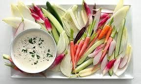 make a thanksgiving crudité platter look amazing