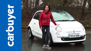 fiat 500 hatchback fiat 500 hatchback review carbuyer youtube