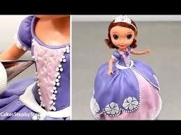sofia the cake sofia doll cake by cakes stepbystep