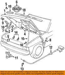 nissan sentra hood latch nissan oem hood support prop rod clip clamp holder 6572201e00 ebay