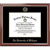 of michigan diploma frame of michigan gold embossed diploma frame