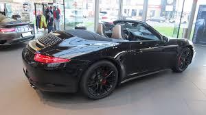 cayman porsche convertible 2015 porsche 911 carrera gts cabriolet youtube