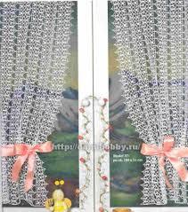 Free Curtain Patterns Crochet Curtain Free Pattern Häkeln Gardinen Crochet Curtain