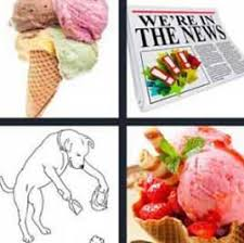 4 pics 1 word ice cream cone what u0027s word answers