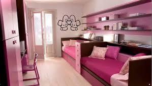 bedroom white bookshelf white study desk white chair pink wall