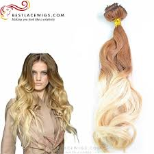 ombre hair extensions clip in 8pcs clip in hair extension ombre hair hair