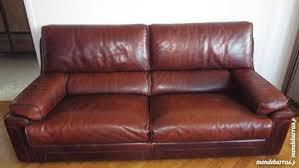 canapé cuir de buffle 3 places achetez canapé cuir de occasion annonce vente à viry châtillon 91