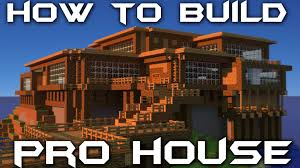 how to build your own pro house in minecraft youtube