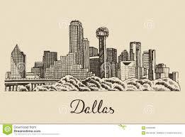 city building sketch
