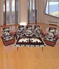 Sofa Cover Online Buy Fk 6 Seater Velvet Set Of 11 Sofa Covers Buy Fk 6 Seater Velvet