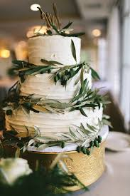 wedding cake greenery greenery coastal wedding grace