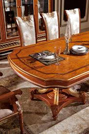 0062 european design home furiniture high end classic wood dining