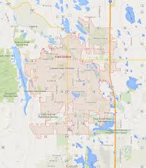 Longmont Colorado Map by Fort Collins Colorado Map