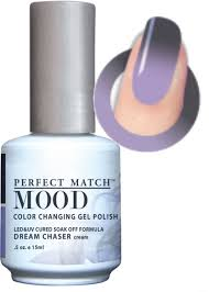 lechat mood color changing gel polish dream chaser cream mpmg40