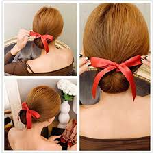bun maker magic ribbon hair bun maker things