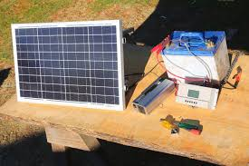 how to build a basic portable solar power system camping boating
