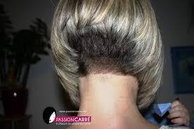 short stacked bob haircut shaved carré plongeant nuque démarquée passion carré short nape