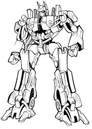 Amazing Optimus Prime In Transformers Coloring Page Download Transformer Color Page