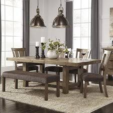 Dining Room Sets With Bench Ideas For Home Interior Decoration - Nice dining room sets