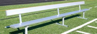 Field Bench Athletic Field Equipment Aluminum Sports Benches Jw Industries