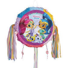 pull ribbon shimmer and shine pinata pull string walmart
