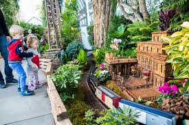 holiday train show press room new york botanical garden