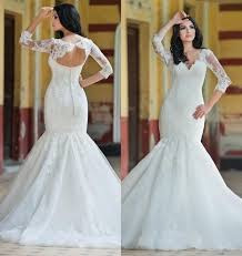 princess vintage lace mermaid style wedding dresses tulle hollow