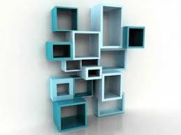 Homemade Bookshelves by Living Room Square Wall Mounted Shelves In Best 25 Modular