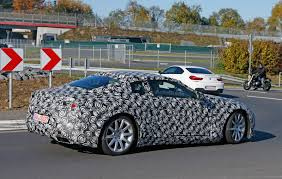 lexus lf lc coupe price lexus lf lc spied testing near the nurburgring