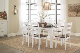 Table And Chairs For Dining Room by Woodanville Dining Room Table And Chairs Set Of 7 Ashley
