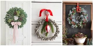 Easy Christmas Decorations To Make At Home 40 Diy Christmas Wreath Ideas How To Make A Homemade Holiday